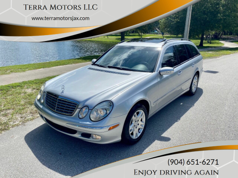 2004 Mercedes-Benz E-Class for sale at Terra Motors LLC in Jacksonville FL