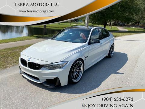 2015 BMW M3 for sale at Terra Motors LLC in Jacksonville FL