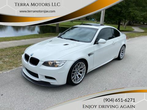 2011 BMW M3 for sale at Terra Motors LLC in Jacksonville FL