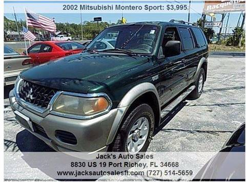 2002 Mitsubishi Montero Sport for sale in Port Richey, FL