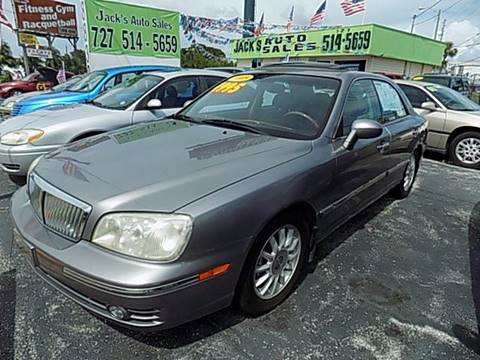 2005 Hyundai XG350 for sale at Jack's Auto Sales in Port Richey FL