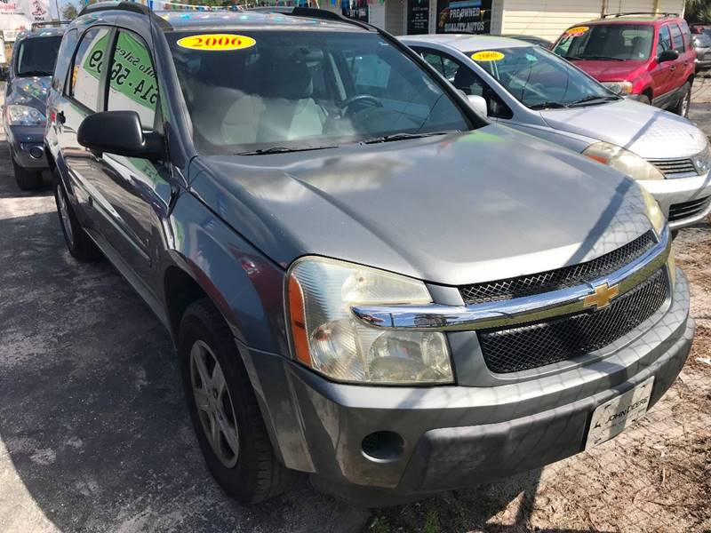 2006 Chevrolet Equinox For Sale At Jacku0027s Auto Sales In Port Richey FL