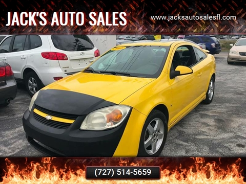 2008 Chevrolet Cobalt Sport for sale at Jack's Auto Sales in Port Richey FL