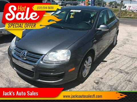 2007 Volkswagen Jetta for sale at Jack's Auto Sales in Port Richey FL