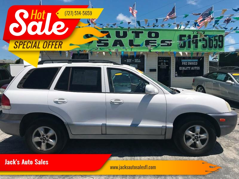 2005 Hyundai Santa Fe For Sale At Jacku0027s Auto Sales In Port Richey FL