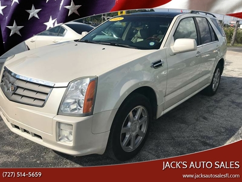 2005 Cadillac SRX for sale at Jack's Auto Sales in Port Richey FL