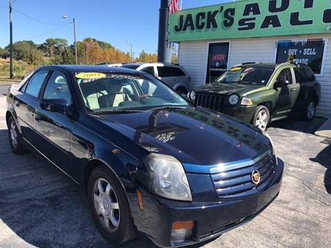 2003 Cadillac CTS for sale at Jack's Auto Sales in Port Richey FL