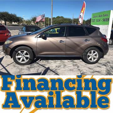 2009 Nissan Murano for sale at Jack's Auto Sales in Port Richey FL