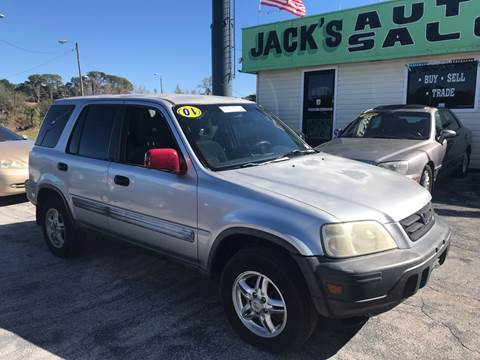 2001 Honda CR-V for sale at Jack's Auto Sales in Port Richey FL