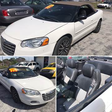 2005 Chrysler Sebring for sale at Jack's Auto Sales in Port Richey FL