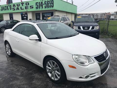2008 Volkswagen Eos for sale at Jack's Auto Sales in Port Richey FL