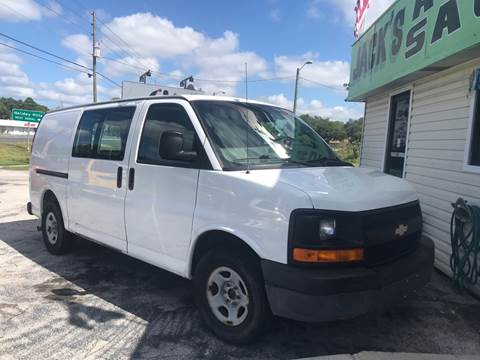 2008 Chevrolet Express Cargo for sale at Jack's Auto Sales in Port Richey FL