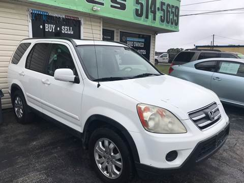 2006 Honda CR-V for sale at Jack's Auto Sales in Port Richey FL