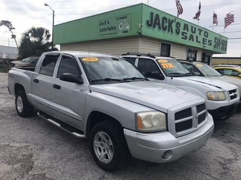 2006 Dodge Dakota for sale at Jack's Auto Sales in Port Richey FL