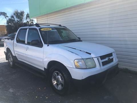 2003 Ford Explorer Sport Trac for sale at Jack's Auto Sales in Port Richey FL