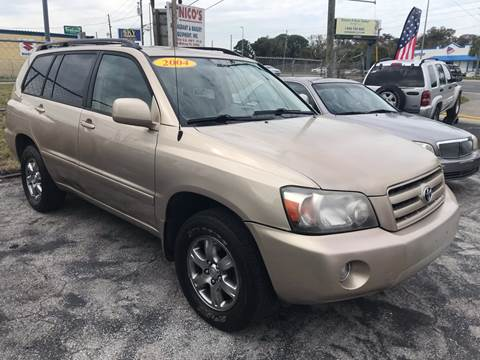 2004 Toyota Highlander for sale at Jack's Auto Sales in Port Richey FL