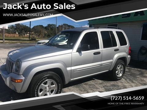 2004 Jeep Liberty Limited for sale at Jack's Auto Sales in Port Richey FL