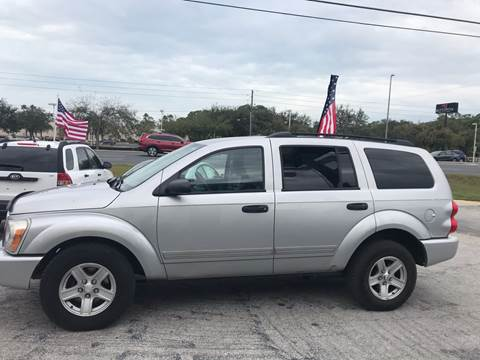 2004 Dodge Durango SLT for sale at Jack's Auto Sales in Port Richey FL