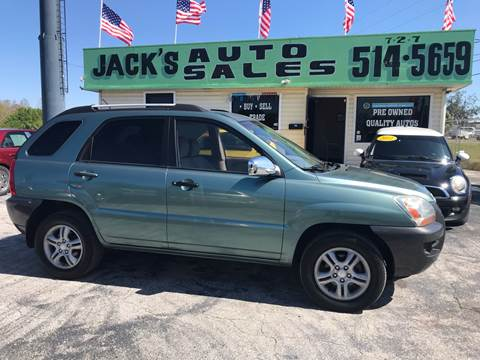 2006 Kia Sportage for sale at Jack's Auto Sales in Port Richey FL