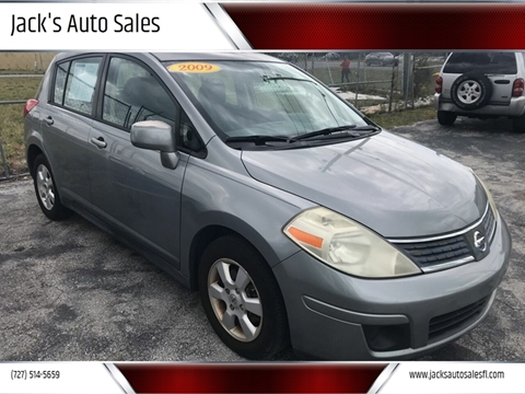 2009 Nissan Versa 1.8 SL for sale at Jack's Auto Sales in Port Richey FL