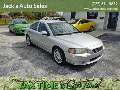 2007 Volvo S60 2.5T for sale at Jack's Auto Sales in Port Richey FL