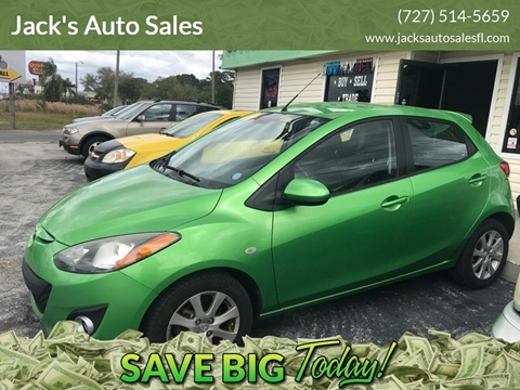 2012 Mazda MAZDA2 Touring for sale at Jack's Auto Sales in Port Richey FL