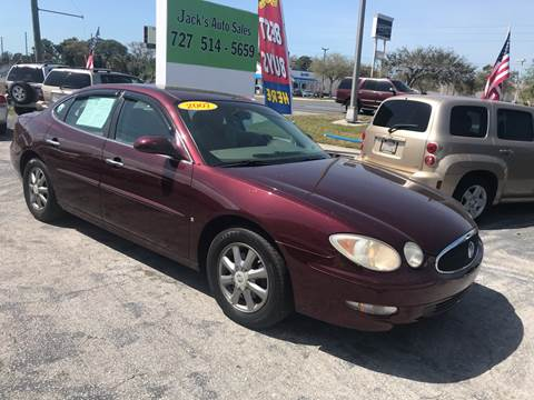 2007 Buick LaCrosse CXL for sale at Jack's Auto Sales in Port Richey FL