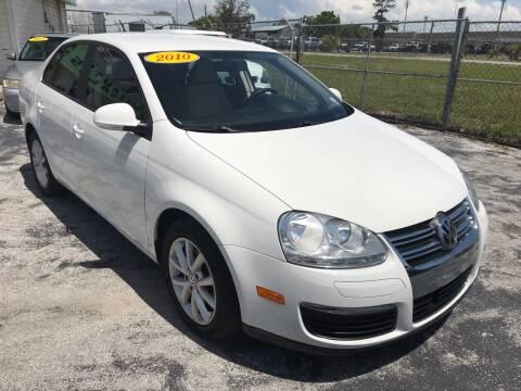 2010 Volkswagen Jetta for sale at Jack's Auto Sales in Port Richey FL