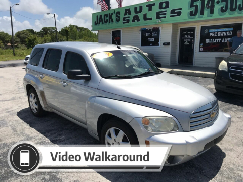 2009 Chevrolet HHR for sale at Jack's Auto Sales in Port Richey FL