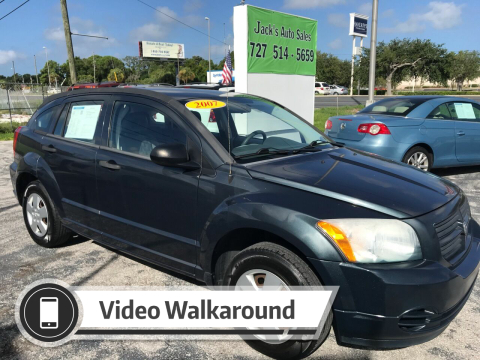 2007 Dodge Caliber for sale at Jack's Auto Sales in Port Richey FL