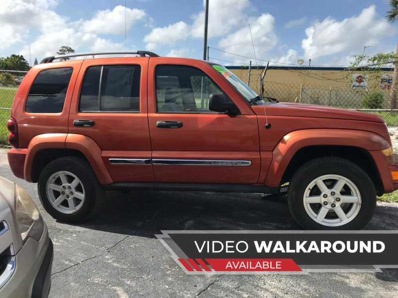 2005 Jeep Liberty for sale at Jack's Auto Sales in Port Richey FL