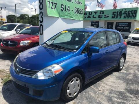 2008 Nissan Versa for sale at Jack's Auto Sales in Port Richey FL