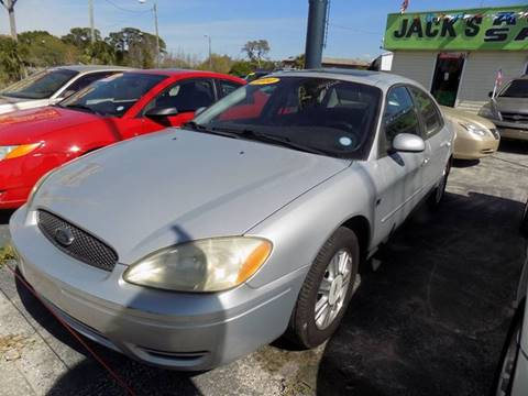 2004 Ford Taurus For Sale At Jacku0027s Auto Sales In Port Richey FL
