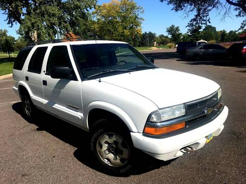 2002 Chevrolet Blazer for sale in Englewood, CO