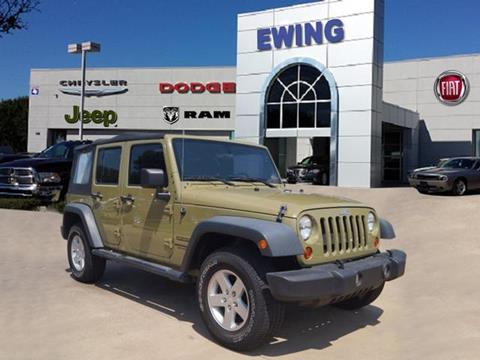 2013 Jeep Wrangler Unlimited for sale in Arlington, TX