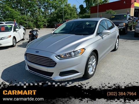 2014 Ford Fusion For Sale >> Used Ford Fusion For Sale In Delaware Carsforsale Com