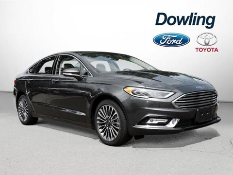 2017 Ford Fusion for sale in Cheshire, CT