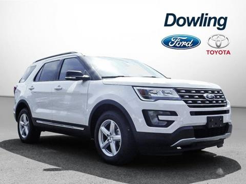 2017 Ford Explorer for sale in Cheshire CT