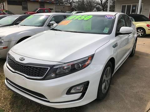 2014 Kia Optima Hybrid for sale in Elkhart, IN