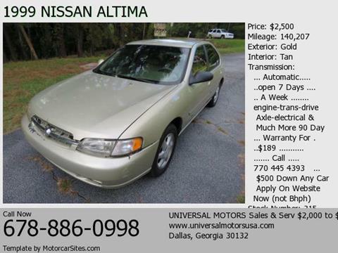1999 Nissan Altima for sale in Dallas, GA