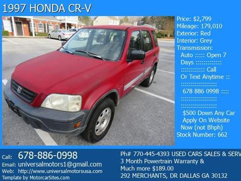 1997 Honda CR-V for sale in Dallas, GA