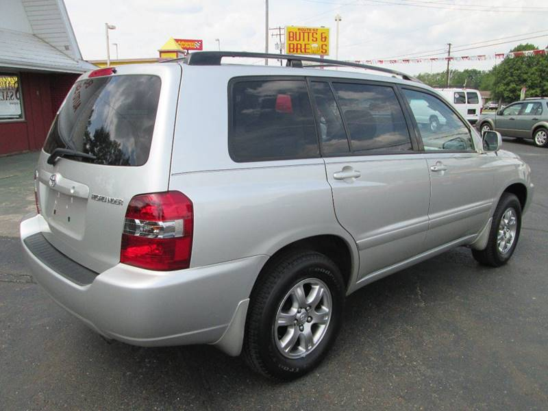 2006 Toyota Highlander for sale at Bob's Auto Sales in Canton OH