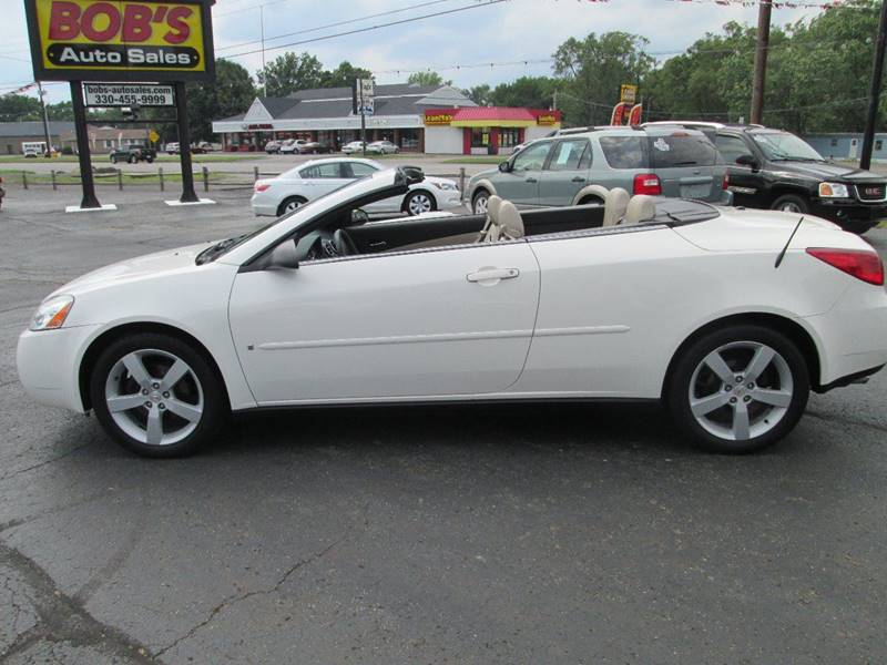 2007 Pontiac G6 for sale at Bob's Auto Sales in Canton OH