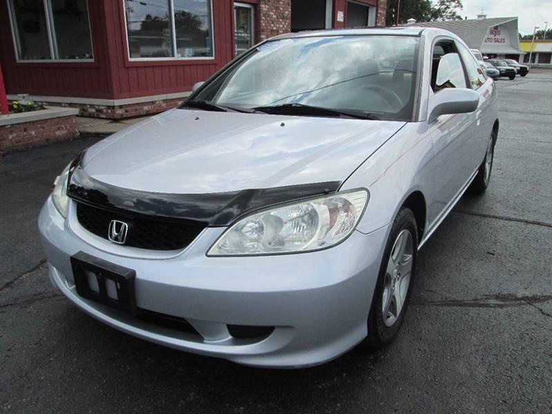 2004 Honda Civic for sale at Bob's Auto Sales in Canton OH