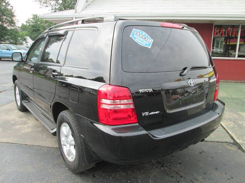 2002 Toyota Highlander for sale at Bob's Auto Sales in Canton OH
