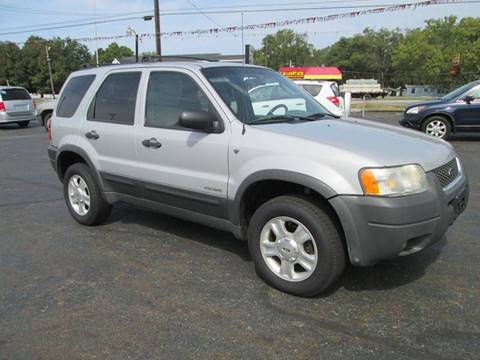 2002 Ford Escape for sale at Bob's Auto Sales in Canton OH