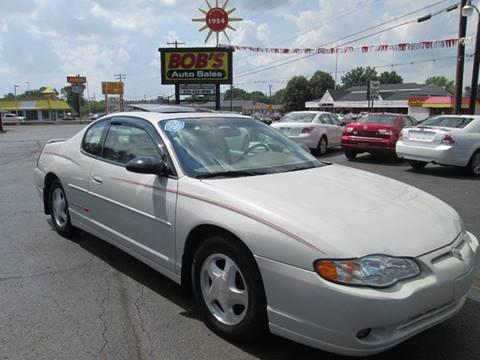 2003 Chevrolet Monte Carlo for sale at Bob's Auto Sales in Canton OH
