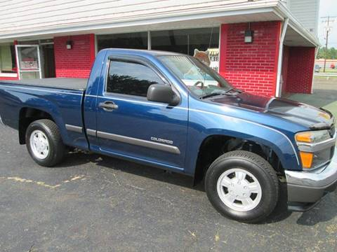 2004 Chevrolet Colorado for sale at Bob's Auto Sales in Canton OH