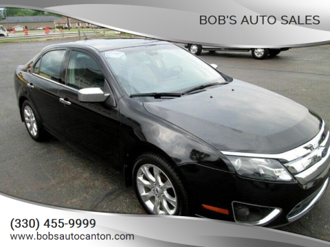 2011 Ford Fusion for sale at Bob's Auto Sales in Canton OH