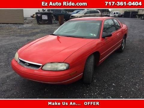 1999 Chevrolet Monte Carlo for sale in Elizabethtown, PA